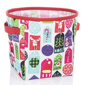 thirty-one Mini Storage Bin Hello Holiday
